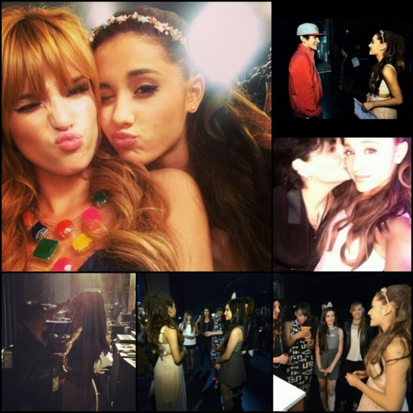 Le 27/04/13 : Ariana était au Radio Disney Music Awards + quelques photos en backstage !