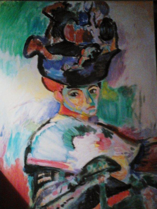 Reproduction Femme Au Chapeau de Henri Matisse
