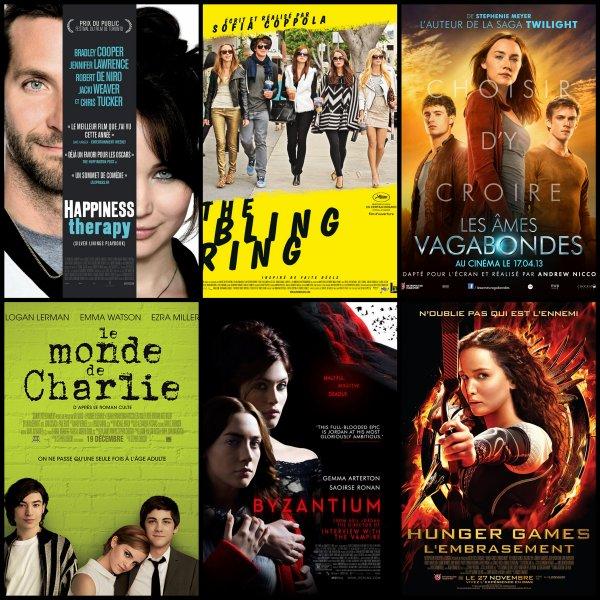 Quel est votre film préférez de l'année ?