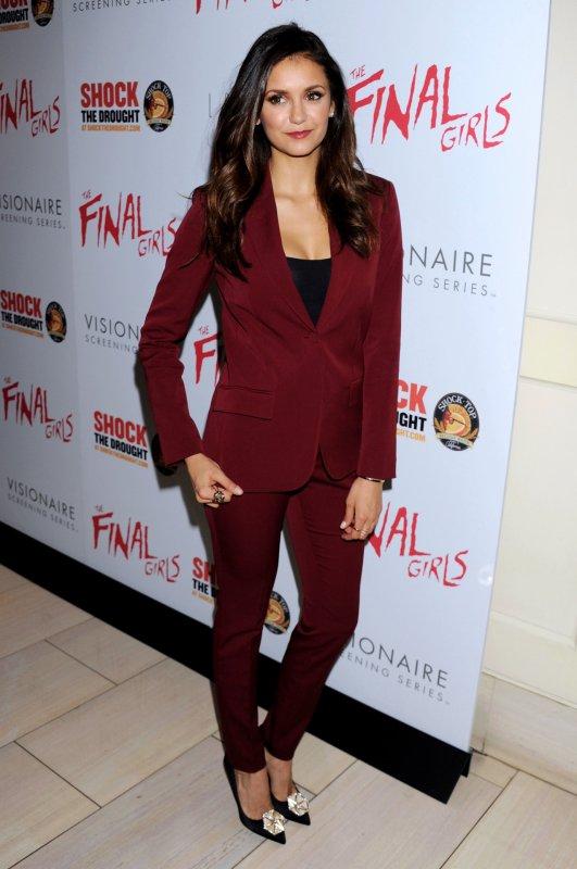 Nina a l'avant première de Final Girl + Stills 7x04 de Vampire diaries !