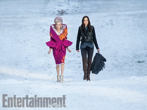 Chanel + POster et STills de Hunger Games