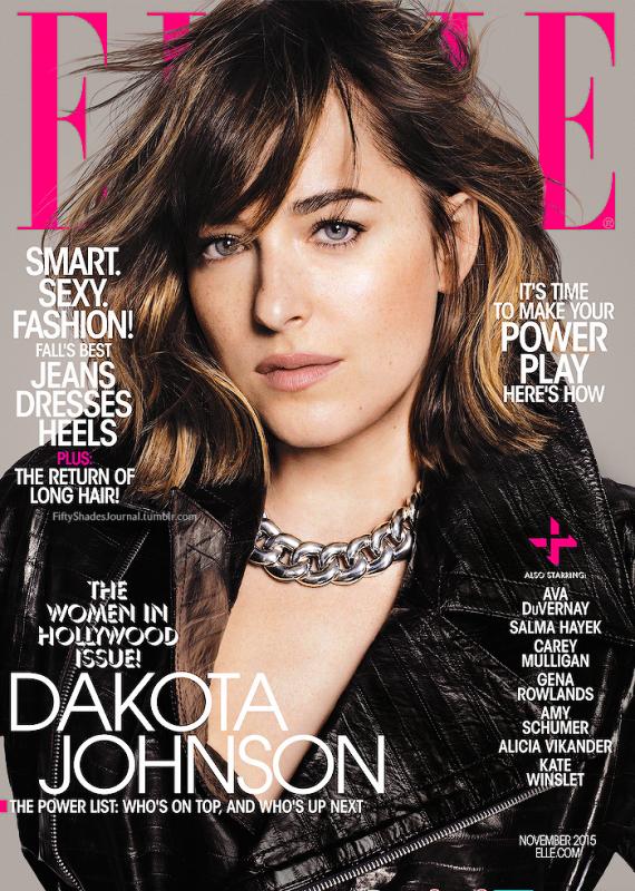 Aperçu du nouveau shoot de Dakota pour le magazine ELLE ! Trop jolie :)