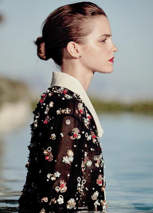Kristen au défilé chanel à rome, trop jolie même si jai limpression quelle a maigrit + Deux nouvelles photos d EMma en HQ + Nina a fait la pose pour la lutte du cancer, sublime.
