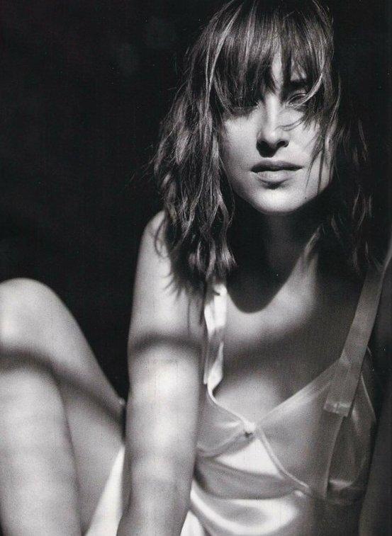 Sublime Dakota pour le magazine Vogue, j'adore + Diivine Chloé pour le magazine Marie-Claire !