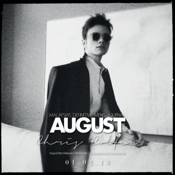 Chris Colfer - August