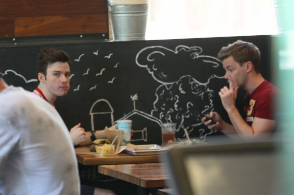 Chris Colfer & Will Sherrod (2)