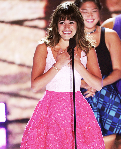 Lea Michele : la femme la plus forte et courageuse ♥