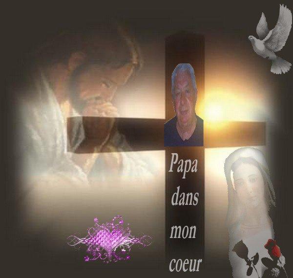 Papa dans mon coeur