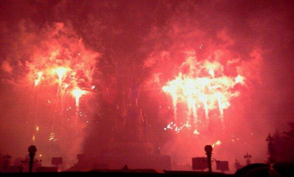 3222°/ Le feu d'artifice de la st Patrick