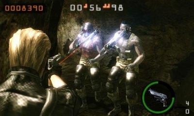 3256°/ Nintendo Event : Resident Evil Mercenaries
