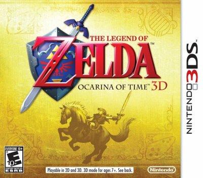 3287°/ La boîte US de Zelda 3DS
