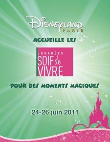 3399°/ Journées soif de vivre à Disneyland Paris