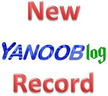 3410°/ Le YanooBlog pète les scores !