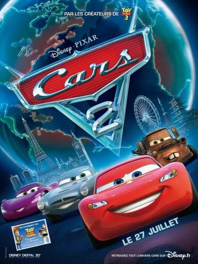 3411°/ Film : Cars 2 (2 juillet 2011 - Avant 1ère)
