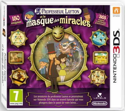 3430°/ Test Jeux 3DS : Professeur Layton et le masques des miracles