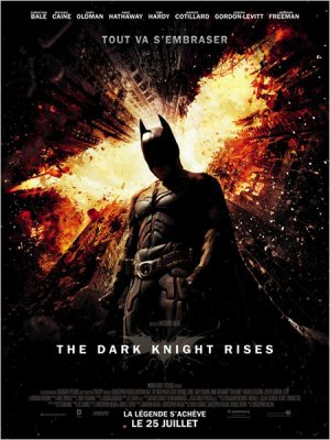 3454°/ Film : The Dark Knight Rises (24&25 juillet / 18 aout 2012)