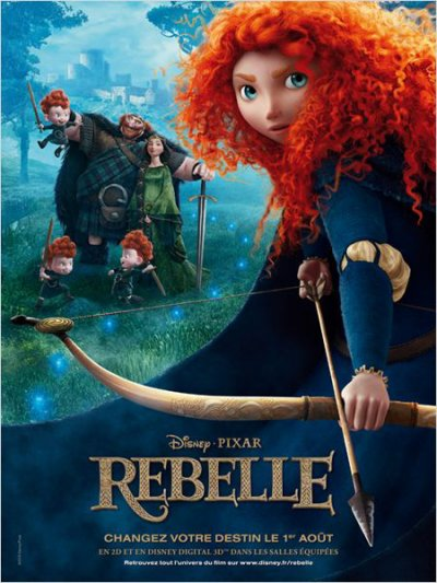 3458°/ Film : Rebelle (6 aout 2012)