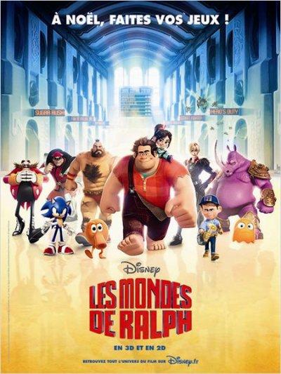 3460°/ Film : Les Mondes de Ralph (Séance 3D - 15 décembre 2012)