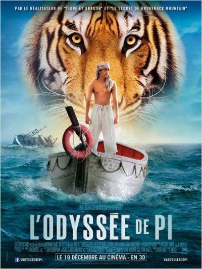 3461°/ Film : L'Odyssée de Pi (Séance 3D - 11 décembre 2012)