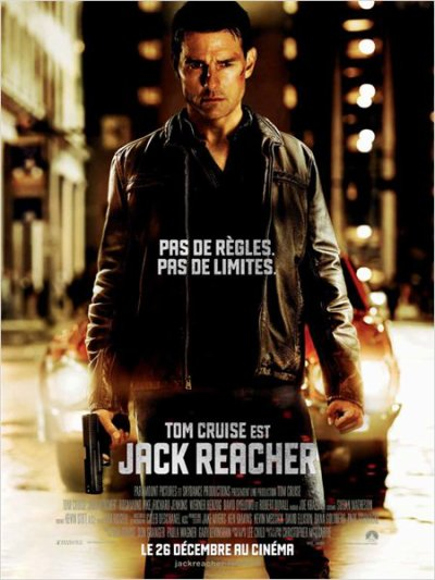 3485°/ Film : Jack Reacher (19 janvier 2013)