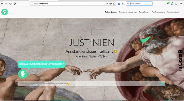 Justinien - Assistant juridique