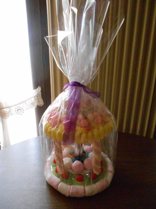 Pièce bonbons (petit carrousel/manège)
