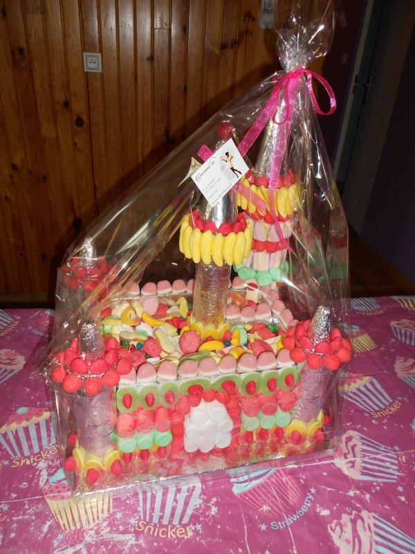 Pièce bonbons Château