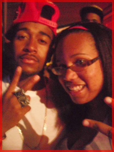 Omarion & Princess Kinzy Jackson ( is Angel )