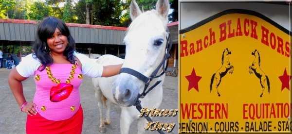 Le cheval de la Princess Kinzy