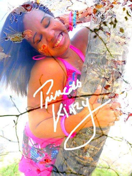 """La princess des cocotiers """" princess pink kinzy """""""
