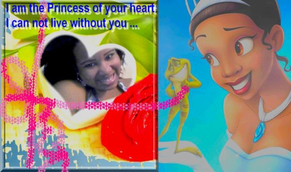 "Princess of your heart ... "" Curtis Jackson"""
