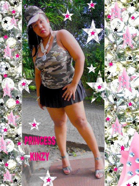 "Affirmation Princess Kinzy "" Toujour Sourire """