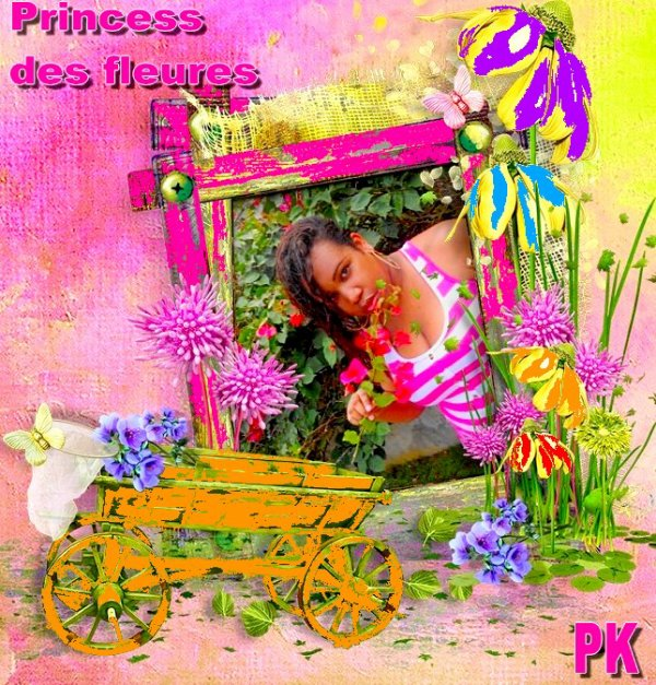 The Princess of flowers - Princess Kinzy