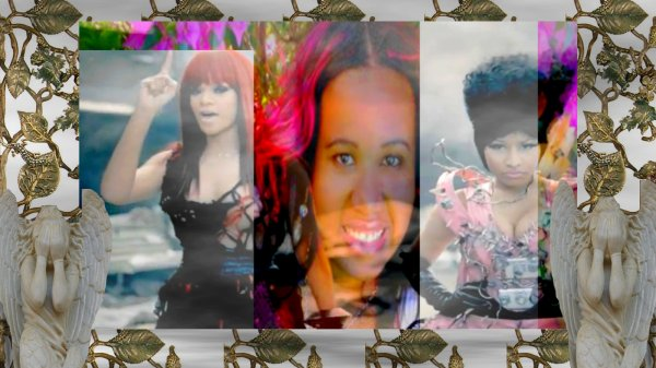 "Rihanna -  Princess Kinzy ""angel"" - Nicki Minaj"