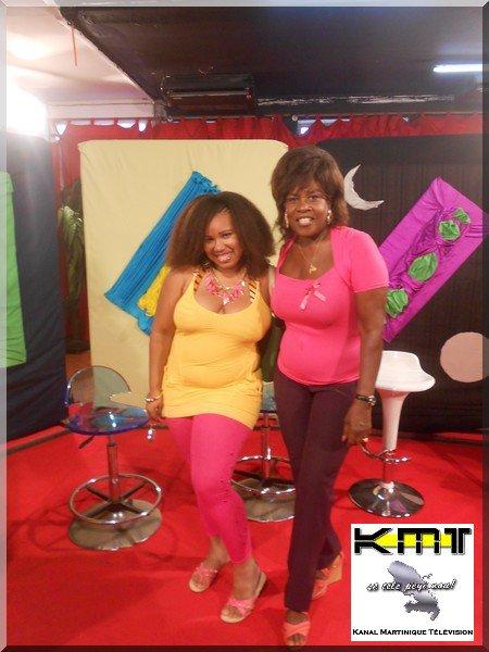 KMT émission TV en martinique - Princess Kinzy