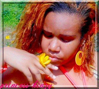 princess kinzy - poster de la fleure
