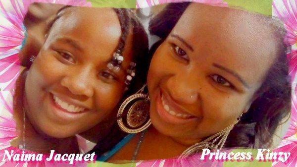 Naima Jacquet et Princess Kinzy