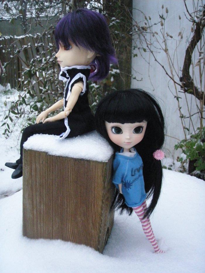 Séance dans la neige