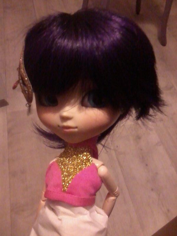 Prune avec la wig de Dj-chou
