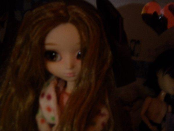 Pam et sa nouvelle coiffure