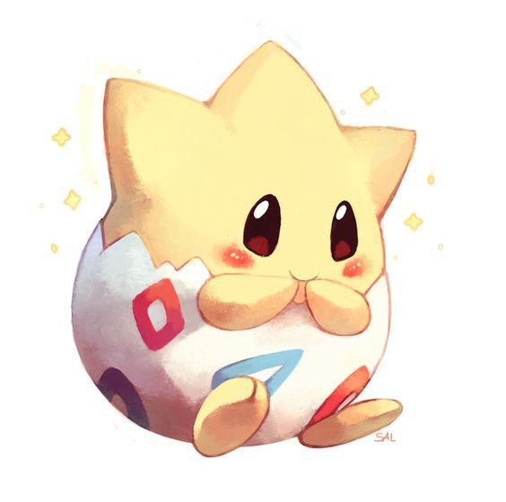 Toguepi à l'époque ou je regardais pokémon c'était le pokémon le plus mignon