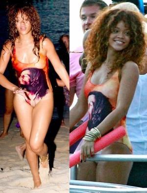 Rihanna en Barbade.