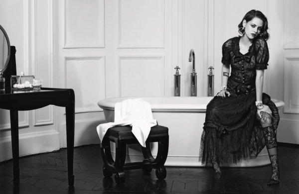 Chanel: Veterans shots of Kristen for the advertising campaign 'Métiers d'Art Paris In Rome' HQ