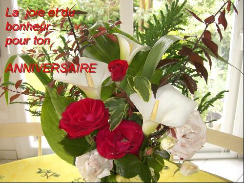Joyeux Anniversaire A Ma Grande Amie Harmonie Damour Bisous