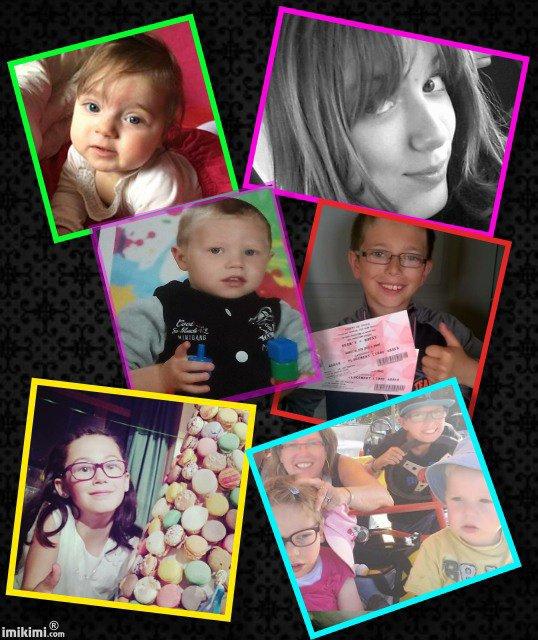 Mes 7 petits enfants