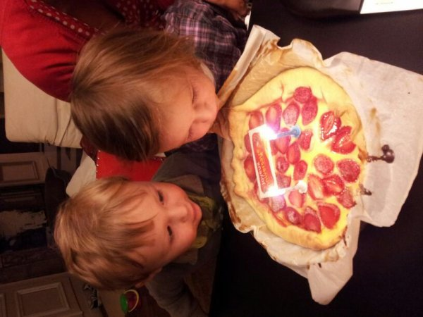 Anniversaires de mes enfants déjà deux ans ca passe
