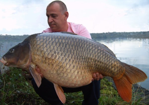 et boummm essais réussi,un fish magnifique de ma rivière préféré.25kg.