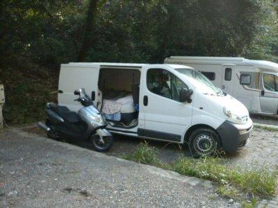 a genes en mode camping car