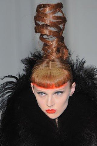 Des coiffures vraiment étranges...