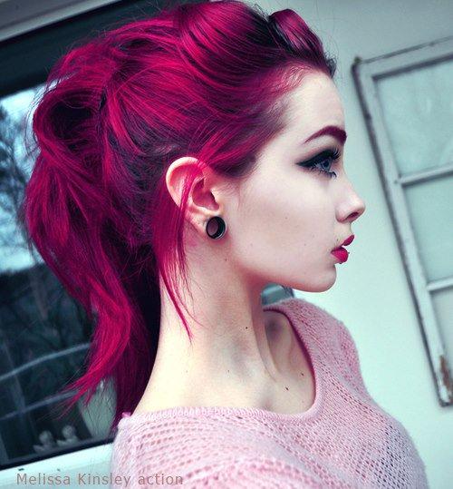 Cheveux colorés ♥